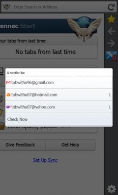 X-notifier Lite - Firefox Addon