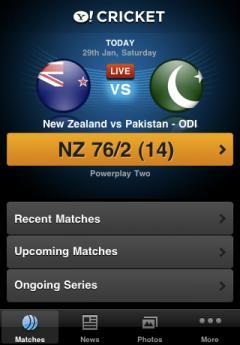 Yahoo! Cricket