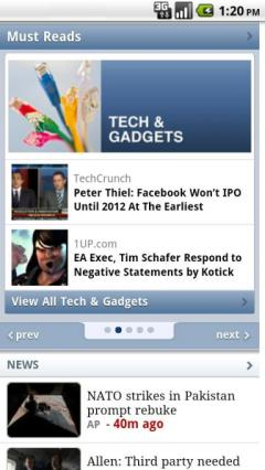 Yahoo! for Android