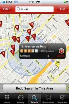 Yelp (iPhone/iPad)
