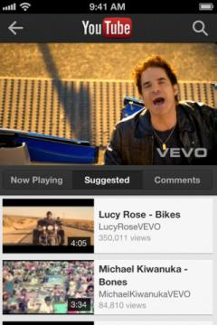YouTube (iPhone)