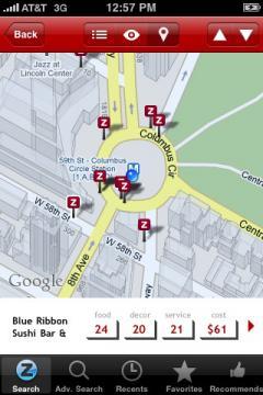 Zagat (iPhone/iPad)