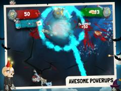 Zombie Swipeout HD Free for iPad
