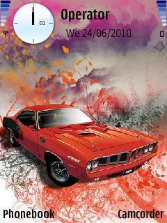 Abstract Mustang
