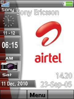 Airtel Slide Bar