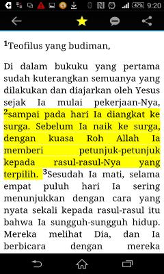 Alkitab Terjemahan Baru- Indonesian