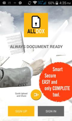 ALLDOX - ALWAYS DOCUMENT READY