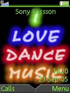 Animated Dance Music