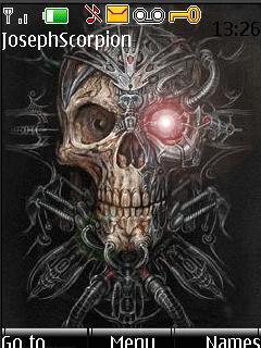 Animated Evil Skull9
