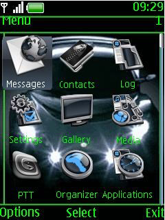 free nokia asha 202 205 animated speed car app download