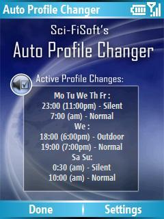 Sci-FiSoft's Auto Profile Changer