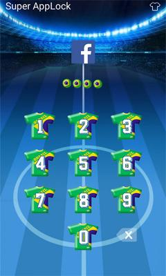 AppLock Theme Brasil Rio 2016