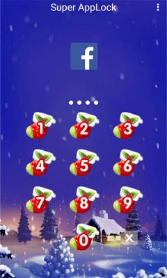 AppLock Theme Christmas