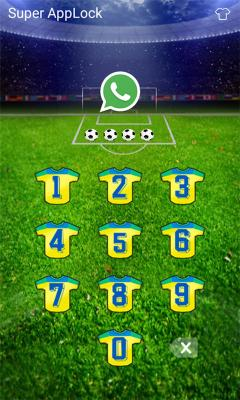 AppLock Theme Goal Football