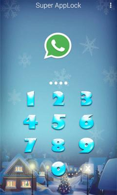 AppLock Theme Snowsky