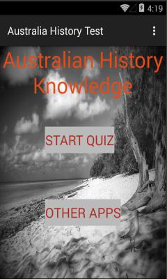 Australia History test