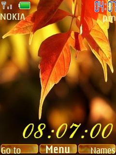 Autumn Clock