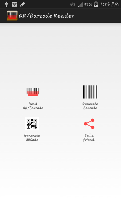 Barcode and QR Scan Genrator