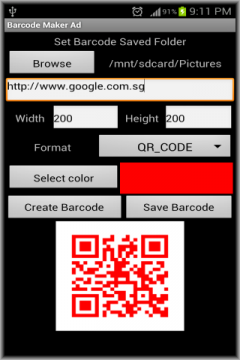 Barcode Maker Ad