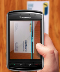 Business Card Reader (BlackBerry)