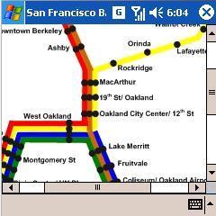 San Francisco Metro Map