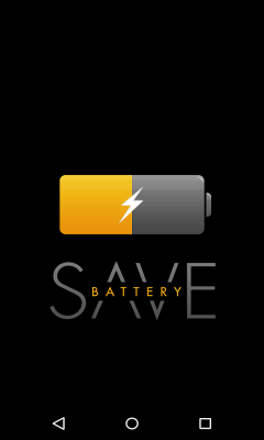 Battery saver optimizer