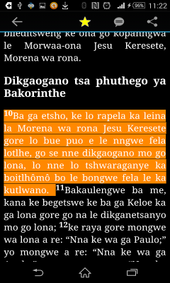 BEIBELE in Tswana