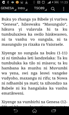 Bible In Tsonga - BIBELE