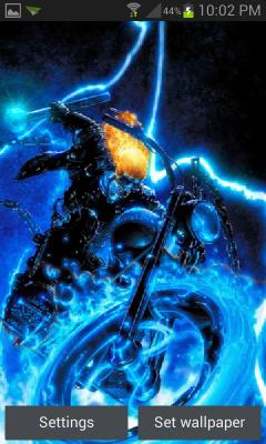 Blue Fire Rider LWP