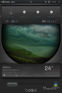 Boss Dacal Animated LS Widget