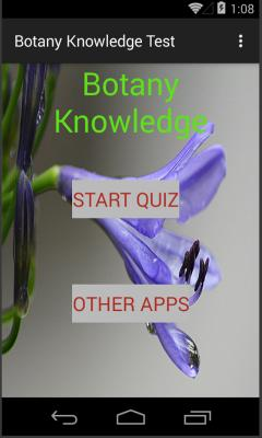 Botany knowledge test