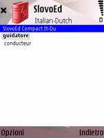 SlovoEd Compact Dutch-Italian & Italian-Dutch dictionary for S60
