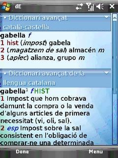 Advanced Spanish-Catalan/Catalan-Spanish Dictionary from Enciclopedia Catalana