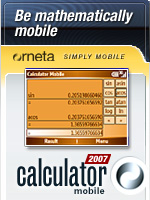 Calculator Mobile 2007, by Orneta