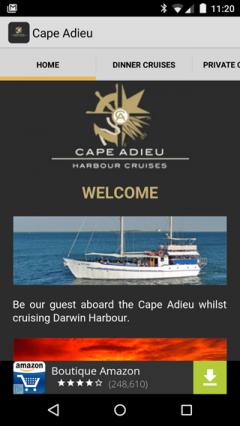Cape Adieu Darwin