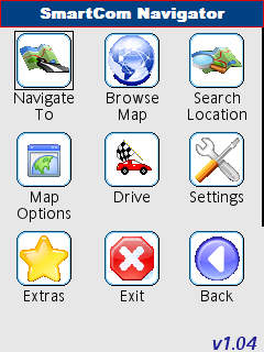 SmartCom Navigator UIQ3