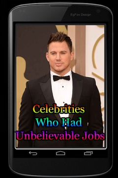 Celebrities Who Had Unbelievable Jobs