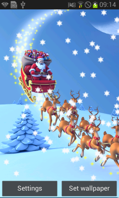 Christmas Live Wallpapers 3D