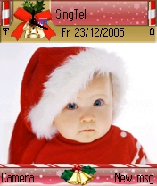 Lovely Christmas Theme for Nokia S60 Symbian