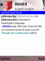 SlovoEd Classic English explanatory dictionary for S60