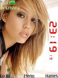Clock- Jessica Alba