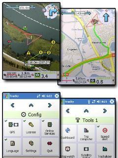 TrackyPro (online GoogleMaps with GPS)