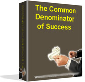 common denominator of success essay A common denominator among managers that fail in cross-cultural conflict and communication barriers essay connecting' are essential to success and.