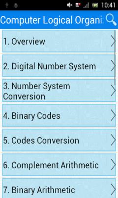 Computer Logical Organization