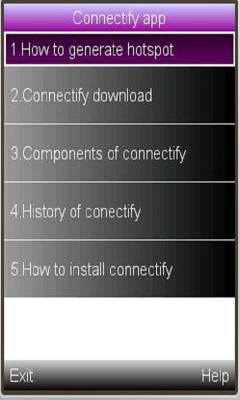 Connectify application