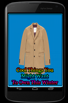 Cool Things You Might Want To Own This Winter