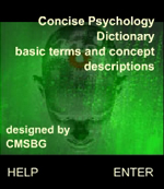 Concise Psychology Dictionary