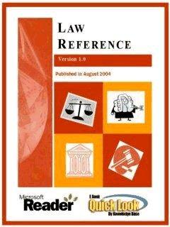 Law Reference for Pocket PC
