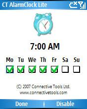 CT AlarmClock