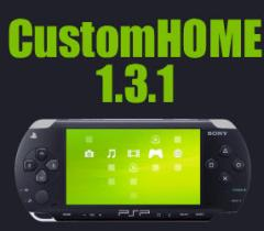 PSP Homebrew: CustomHome version 1.3.1
